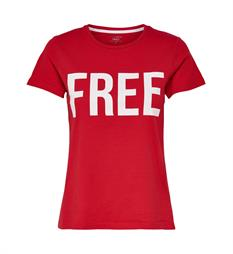 Only T-shirts 15152829 riva s Rood