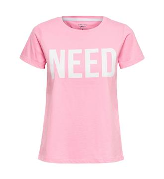 Only T-shirts 15152829 riva s Roze