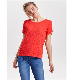 Only T-shirts 15153401 perry Rood