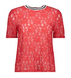 Only T-shirts 15153422 gwenny Rood