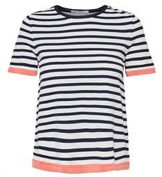 Only T-shirts 15156390 suzana Blauw dessin