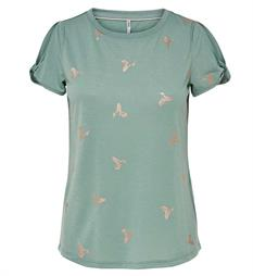 Only T-shirts 15156472 new is Oud groen