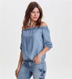 Only Tops 15150145 janice Blue denim