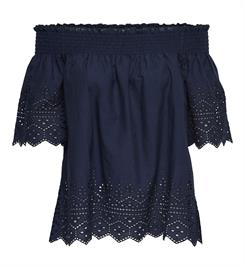 Only Tops 15169944 onlshery emb anglaise Navy