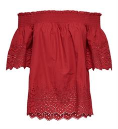 Only Tops 15169944 onlshery emb anglaise Rood