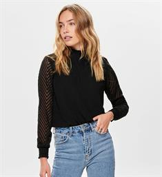 Only Tops 15190950 onlnew kayla l/s top Zwart