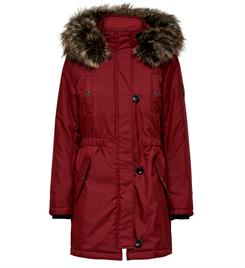 Only Winterjassen 15181307 onliris fur parka Bordeaux