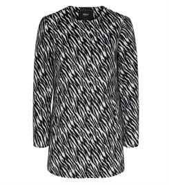 Only Winterjassen 15190113 anni zebra coat Zwart