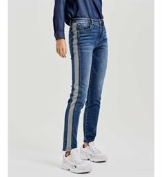 Opus Slim jeans Ely inside out sp 230065040 Blauw