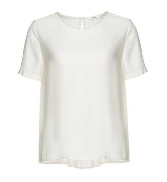 Opus T-shirts Fialla Off white