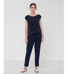 Opus T-shirts Squilly Navy