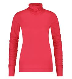 Penn and Ink Lange mouw T-shirts W19f645 Rood