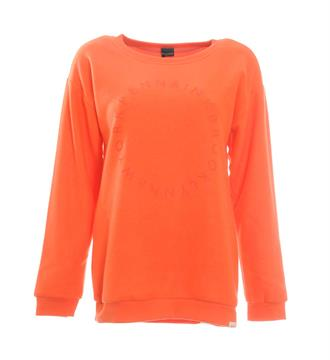 Penn and Ink Sweaters W17f069 Oranje
