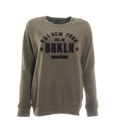 Penn and Ink Sweaters W17f095 Army