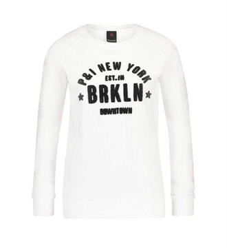 Penn and Ink Sweaters W17f095 Wit