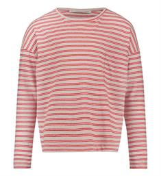 Penn and Ink T-shirts S18f176k Rood dessin