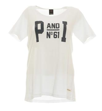 Penn and Ink T-shirts W17f022 Wit