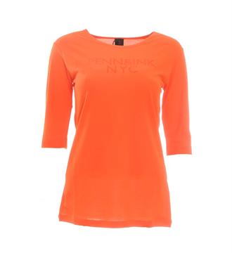 Penn and Ink T-shirts W17f054 Oranje