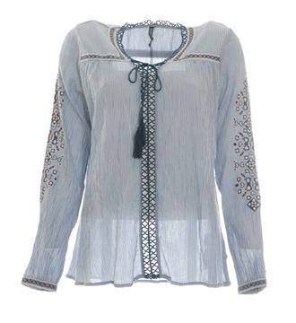Pepe Jeans Tops Blauw dessin