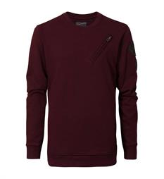 Petrol Fleece truien B-fw17-swr317 Bordeaux