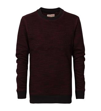 Petrol Fleece truien B-fw17-swr321 Bordeaux