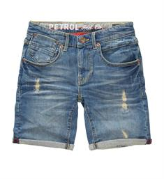 Petrol Korte broeken B-ss18-sho593 Medium blue denim