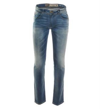 Petrol Slim jeans Nelson 76 Blue denim