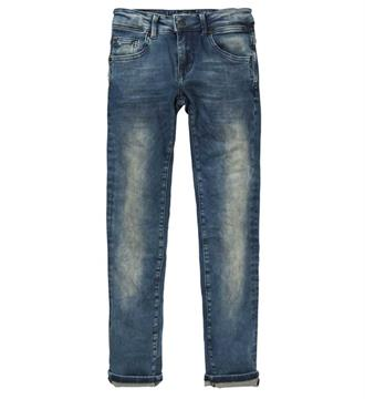 Petrol Slim jeans Seaham 5888 Blue denim