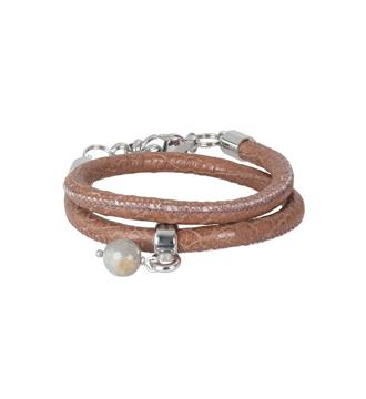 Pimps and Pearls Armbanden 168 moesss styl Cognac