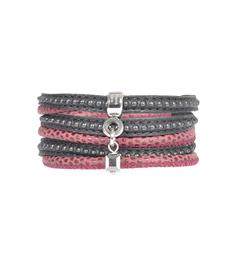 Pimps and Pearls Armbanden 314 moesss mea Rood dessin