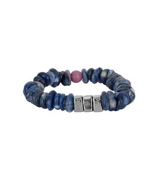 Pimps and Pearls Armbanden 450 chakra Blauw