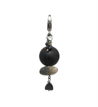 Pimps and Pearls Bedels - hangers 1847 black rock Zwart