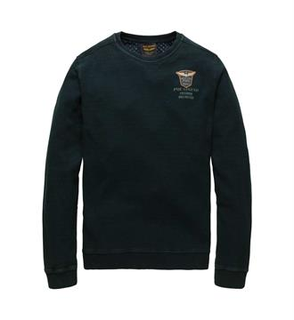 PME Legend Fleece truien Psw176439 Donkergroen