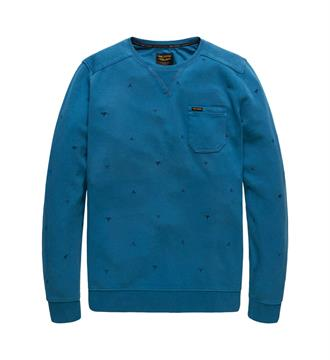PME Legend Fleece truien Psw178441 Blauw