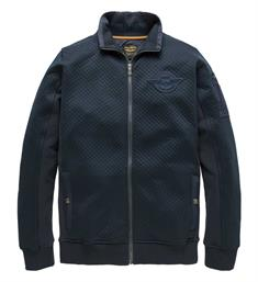 PME Legend Fleece vesten Psw185401 Navy