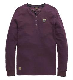 PME Legend Lange mouw T-shirts Pts187511 Bordeaux