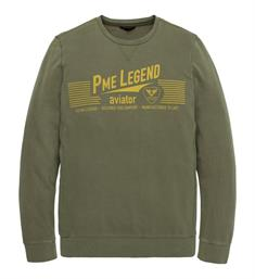 PME Legend Lange mouw T-shirts Pts193502 Army