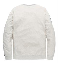 PME Legend Lange mouw T-shirts Pts195501 Off-white