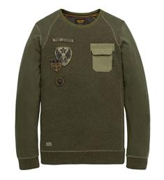 PME Legend Lange mouw T-shirts Pts195554 Army