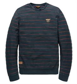 PME Legend Lange mouw T-shirts Pts196505 Navy