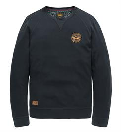 PME Legend Lange mouw T-shirts Pts196535 Navy