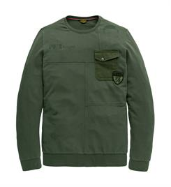 PME Legend Lange mouw T-shirts Pts196538 Army