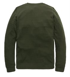 PME Legend Lange mouw T-shirts Pts197502 Army