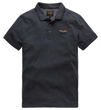PME Legend Polo's Ppss175857 Blauw melee