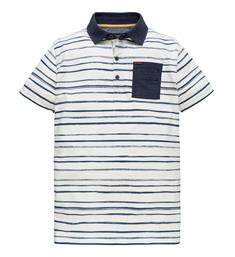 PME Legend Polo's Ppss184865 Wit dessin