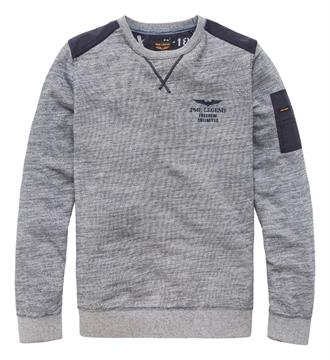PME Legend Sweaters Psw175419 Blauw melee