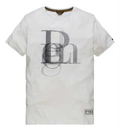 PME Legend T-shirts Ptss183512 Wit