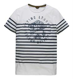 PME Legend T-shirts Ptss184535 Wit dessin