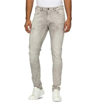Purewhite Broeken The jone w0037 Grey denim