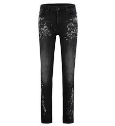 Purewhite Broeken W0264 the jone Black denim